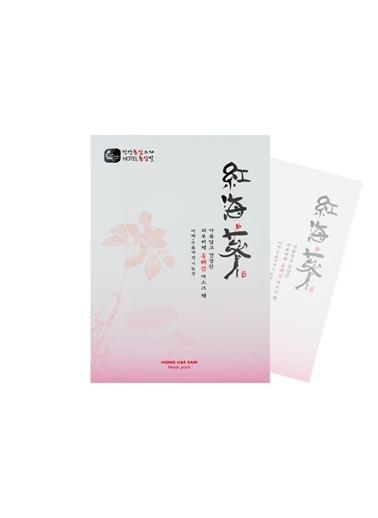 HongHaeSam Ginseng Ve Deniz Hıyarı Özlü Yüz Maskesi Renksiz